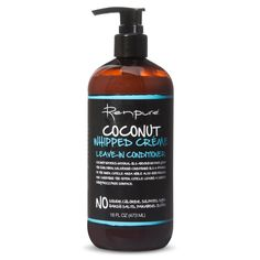 Love this! Smells amazing! Renpure Coconut Whipped Creme Leave-In conditioner. Coconut waters, natural oils absorb instantly into the hair fiber No Sodium Chloride, Sulfates, dyes, harsh salts, Parabens, Gluten!