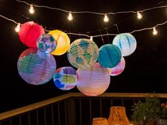 DIY Watercolor Paper Lanterns | HGTV's Decorating & Design Blog | HGTV