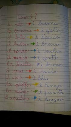 Classe seconda italiano la divisione in sillabe ottobre for Maestra carmelina classe seconda