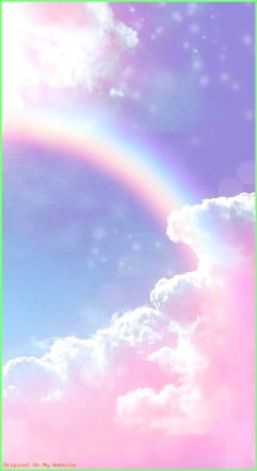 Aesthetic Wallpaper Pastel Clouds Ideas For 2019 Glitter Wallpaper Iphone, Unicornios Wallpaper, Cute Galaxy Wallpaper, Cute Pastel Wallpaper, Rainbow Wallpaper, Butterfly Wallpaper, Aesthetic Pastel Wallpaper, Scenery Wallpaper, Cute Wallpaper Backgrounds