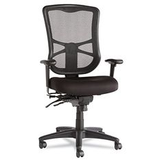 Alera Elusion Series Mesh HighBack Multifunction Chair Black >>> For more information, visit image link. Note:It is Affiliate Link to Amazon.