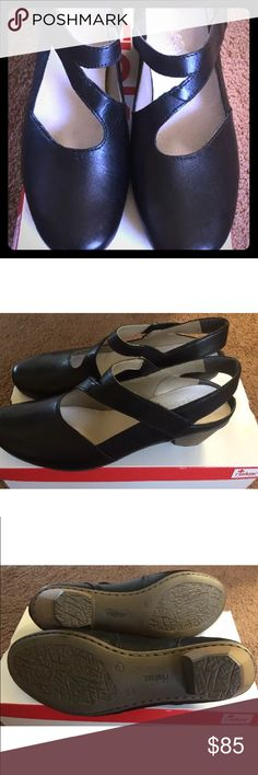 Rieker Woman s shoes black leather New in the box. Lovely black Rieker  Antistress Mariah shoes 6c3891c926