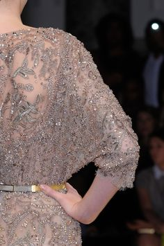 Elie Saab fall 2012 couture details