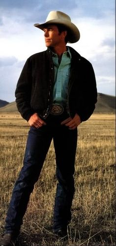 Chris Ledoux, kind of like the Bruce Springsteen of Rodeo music :)