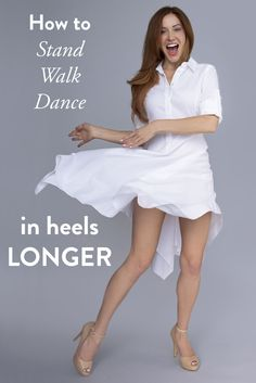 Unique hack for high heels | best way to walk with confidence and grace, make women's pumps, stilettos more comfortable for teens for prom | classy strappy work shoes find out more at https://www.gingerstraps.com