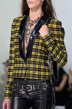 Trend Alert: Plaid and Leather