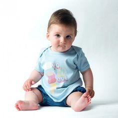 Camiseta yosiquesera para bebé - helado yosíquesé #yosíquesé #camisetaconestilo #heladomolón #diseñosconalma #camisetabebé #algodónorgánico #style