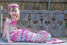 Mermaid Princess Cuddle Set