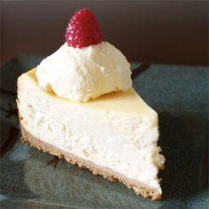 "Chantal's New York Cheesecake   ""Was a big hit at my husband's office!"""