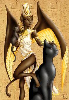 Bastet (Scion) - queen of cats