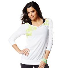 Zumba Fitness Every Body's Headliner Top - Wear it Out White