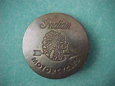 Vintage Indian Motorcycle Brass Biker Jacket Badge | Sold For $10 on ebay. Bought for $2.50. Total $39. July 10th