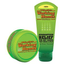 I'm looking forward to trying O'Keeffe's Working Hands Hand Cream for free.  Say so long dry and cracked skin!
