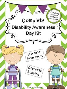The Bender Bunch: SUCCESSFUL DISABILITY AWARENESS DAY EVENT, HOST YOUR OWN!