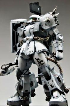GUNDAM GUY: MG 1/100 Zaku II [Club S Project] - Customized Build