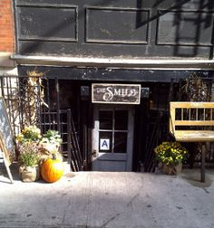 The Smile Cafe (NY)... a quaint restaurant and general store; the perfect big city escape.