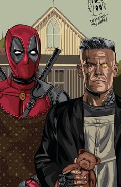 Deadpool 2 Alternative Poster - Eliud Rivera
