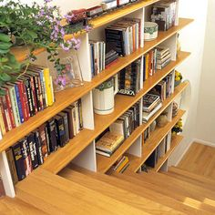 love this idea! i can already see myself reading on the steps...