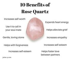 Quarts Crystal, Crystal Healing Stones, Rose Quartz Crystal, Rose Quartz Meaning, Raw Rose Quartz, Crystals And Gemstones, Stones And Crystals, Wicca Crystals, Types Of Crystals