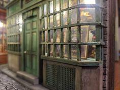 Diagon Alley, Book Nooks, Fantasy World, Flourish, House Colors, Book Design, Book Lovers, Buildings, Harry Potter