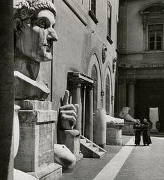 Herbert List - Palazzo dei Conservatori, Roma 1949