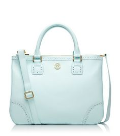 Robinson Spectator Double Zip Tote | Womens Totes | ToryBurch.com. I am in love...