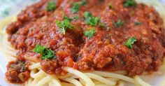 I have tried many meat sauces over the years but I always go back to this one. I usually double this recipe and freeze for later use. Yo...