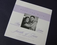 Smaller Size Save the Dates