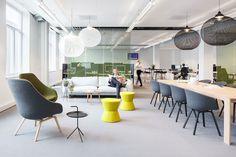 Best Modern and Gorgeous Office Interior Design Ideas – Futurist Architecture … – Office lounge Office Lounge, Open Office, Cool Office, Small Office, Office Space Design, Workplace Design, Office Interior Design, Office Designs, Interior Modern