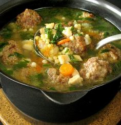 Crock Pot Italian Wedding Soup Recipe - Food.com - 193205