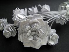 Paper flowers #crafts