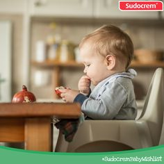 A high chair for when they get a little bit bigger! #SudocremBabyWishlist
