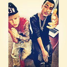 """My and kalfanzo"" Really Justin, kalfanzo -_-"