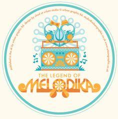 MELODIKA by Chad Woodward, via Behance