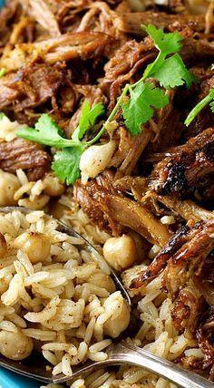 Middle Eastern Shredded Lamb More