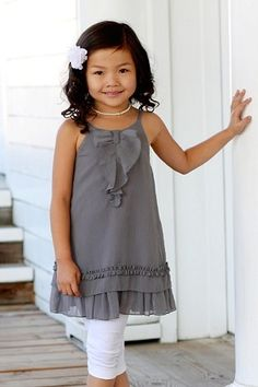 Little Girl Wardrobe Inspiration 3 Pommes My Idol Sundress Tunic