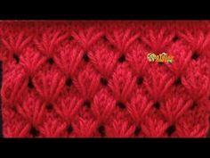 Knitting Stiches, Knitting Videos, Crochet Videos, Knitting Patterns Free, Free Knitting, Crochet Stitches, Baby Knitting, Stitch Patterns, Crochet Patterns