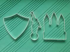 LDS Cookie Cutter Collection 3 Piece Set by Tinworks on Etsy, $15.00