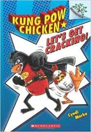"""The play on words in this book and the """"chicken humor"""" are hysterical and perfect to teach students to think about the multiple meanings of text.   We love how the characters charge off to save the world yelling, """"Let's Get Cracking."""""""