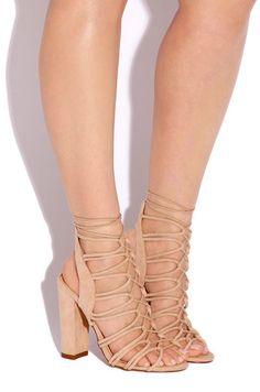 addf70bf116e Haute Line - Nude - Lola Shoetique Fashion Heels