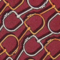 Trussardi silk tie necktie | Greyhound dog head snaffle bit motif | eBay