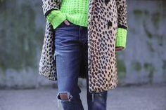 Neon Knit + Leopard