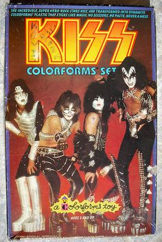 Ages 3 & up. Childhood Toys, Childhood Memories, Compass Tattoo, Kiss Merchandise, Archer Characters, 80 Tv Shows, Vintage Kiss, Kiss Art, Kiss Pictures