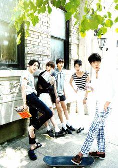[HQ] WINNER - 2014 S/S Limited Edition: Nam Taehyun, Kim Jinwoo, Lee Seunghoon, Song Minho, Kang Seungyoon