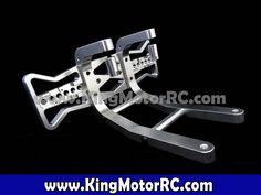 Aluminum Rear Bumper (silver)