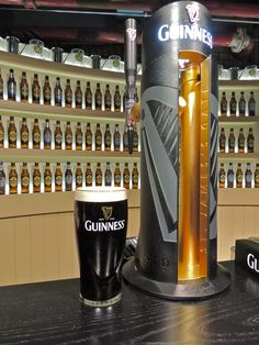 Learning to pour the perfect pint at the Guinness Storehouse