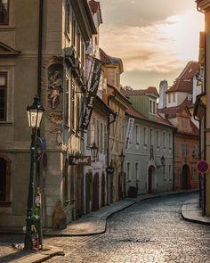 Prague  . . . #prague #lokal #unlimitedprague #wonderful_prague #czechrepublic #czech #ig_worldclub #praha #prag #tschechien #reisen… Beautiful Places In The World, Most Beautiful Cities, Beautiful Buildings, Great Places, Places To Travel, Places To Visit, Europe Street, Prague Czech Republic, Voyage Europe