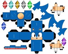 Classic Sonic the Hedgehog by mikeyplater on deviantART