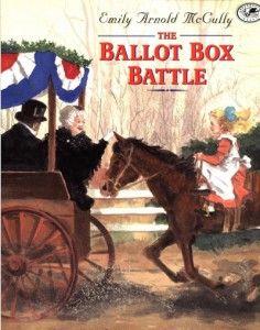 election for kids - ballot box battle - from HowToHomeschoolMyChild.com