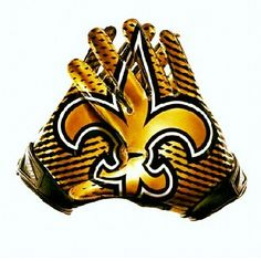 Saints Gold Gloves
